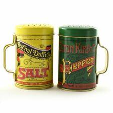 2-Piece Norpro Nostalgic Salt and Pepper Shakers, 10 oz Capacity Vintage Gift