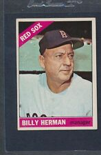 1966 Topps #037 Billy Herman Red Sox VG/EX *2356
