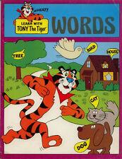 Tony the Tiger coloring book RARE