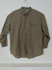 Bob Allen Shooting Shirt Men's Size XL Vented Cotton