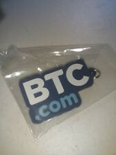 +freegift) NEW in plastic RARE collectible Bitcoin Keychain Crypto Currency BTC