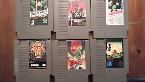Nintendo nes video game lot