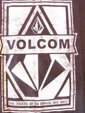 MENS VOLCOM TSHIRT SZ L, CHARCOAL GREY, GREAT DESIGN, NEW