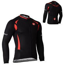 New Men's Bike Long Sleeves Jackets Cycling Jerseys MTB Bicycle Clothing Wear