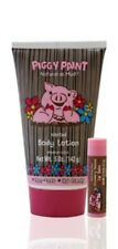 Piggy Paint Body Lotion 5 oz and Lip Balm for Child Children Kid Non-Toxic