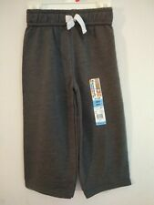 Garanimals Toddler Boys 18M Soft French Terry Sweatpants Charcoal Nwt