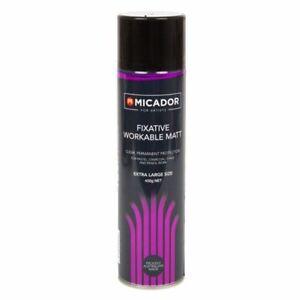 Micador Spray 450g - Fixative (Workable Mat)