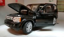 Land Rover Discovery 4 TDV6 Black 2015 1:24 Scale Diecast Detailed Engine Model