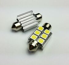 C5W 36MM 6 SMD LED CAN BUS OBC ERROR FREE Number Plate bulbs C