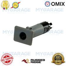 Omix-ADA For 87-06 Wrangler YJ TJ LJ Half Door Insert Bushing Gray - 11818.09