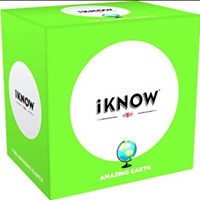 Tactic Games iKnow Amazing Earth - Geography Knowledge Based Card Game 15yrs+