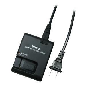 Genuine Nikon MH-25 Quick Battery Charger for EN-EL15 Battery for SLR D7000 1 v1