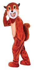 Squirrel, Big Head, Unisex Adult Fancy Dress Costume, One Size #AU