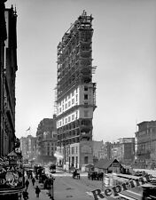 Photograph New York Times Square Building Construction Year 1903  11x14