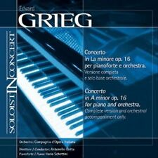 Music Minus One Piano: Grieg Piano Concerto in A-minor, op 16 (Soloist-In-Concer