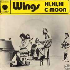 """WINGS """"HI, HI, HI"""" ORIG FR 1972 UNIQUE SLEEVE"""