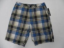 Billabong Walkshort Shorts Size 32 matty Blue Plaid
