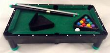 New in Box Mini Action Pool Table Desk Top Billiards & Accessories Gift Kids