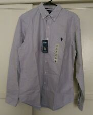 U.S. Polo Assn Mens Button Up Long Sleeve Medium NWT