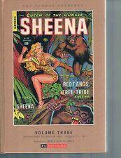 Sheena Queen of the Jungle Golden Age Vol 3 HC  PS Artbooks 2014