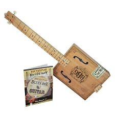 The Electric Blues Box Slide Guitar Kit with Guitar, Instruction Book and DVD