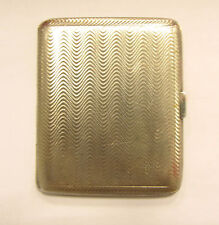 Adie Bros. Sterling Silver English Cigarrette Box With Hallmarks