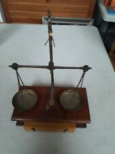 Antique Vintage Jewellers Scales with Weights