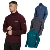 Regatta Kenger Mens Warm Half Zip Fleece Jacket RRP £30