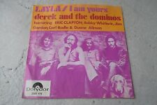 DEREK AND THE DOMINOS LAYLA 45 DUTCH 1971 VERY RARE