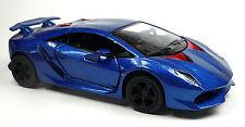 Lamborghini Sesto Elemento azul modelo de coleccionista aprox. 13cm mercancía nueva de Kinsmart