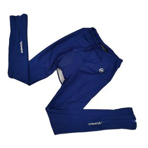 Candish Men Cycling Tights Padded Blue Size L VGC