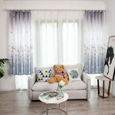 Room Curtain Printed Curtain Polyester Thermal Patterns Shower Super Floral O3