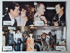 16 PHOTOS LOBBY CARDS - BONS BAISERS D ATHENES - ESCAPE TO ATHENA - ROGER MOORE
