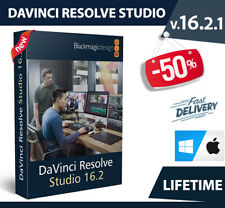 ⚡ DaVinci Resolve Studio 16.2.1 - Lifetime ⚡ Fast Delivery ⚡ Windows & Mac ⚡