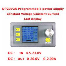 DP20V2A CVCC Programmable Control Step-down Power Supply Modul LCD Display 40W