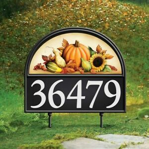 """HAPPY FALL TO ALL"" Scarecrow Garage Door Cover Magnets Halloween Decoration"