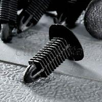 50Pcs 8 x 8mm Hole Plastic Rivets Retainer Fastener Clips for Car Bumper Fender