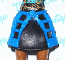 MONSTER HIGH 1ST ORIGINAL ROBECCA STEAM DOLL OUTFIT REPLACEMENT BLUE CAGE SKIRT