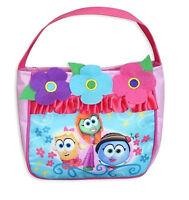 Big Idea Veggie Tales Youth Handbag, Pink, Petunia Laura Madame Blueberry