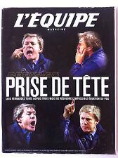 L'Equipe Magazine du 10/03/2001; PSG/ Luis Fernandez/ Benoit Cauet/ J.O 2002