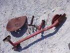 Massey Harris 44 Tractor MH Original easy rider seat assembly w/ metal pan