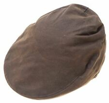 Barbour Para Hombre Algodón Encerado Diariero sombrero de un tamaño de color caqui Algodón Vintage E102