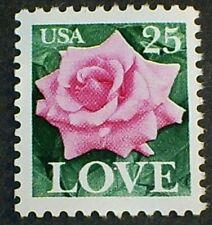 US Scott #2378 .25¢ - LOVE Pink Rose, MNH OG VF