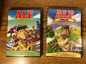 Alf Animated Adventures & Alf Tales DVD LOT 16 EPISODES 5+ HOURS ANIMATED NEW