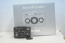 Rollei 35 Classic Carbon Edition 35mm Viewfinder Film Camera Kit