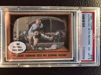 1961 Topps Paul Hornung Sets Record PSA 6 Packers
