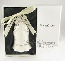 PANDORA Limited Edition 2017 BELL Porcelain CHRISTMAS ORNAMENT NEW IN BOX!
