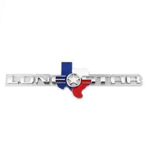 Lone Star Emblem Badge Tailgate Metal Sticker Decal For RAM 1500 2500 3500 OEM