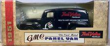 1951 GMC TRUE VALUE PANEL VAN, BLACK, NICE, BY ERTL!