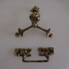 Ornement ameublement bronze 2 poignées XVIIIe Renaissance art nouveau France